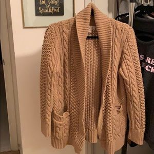 Michael Michael Kors Chunky Sweater Cardigan
